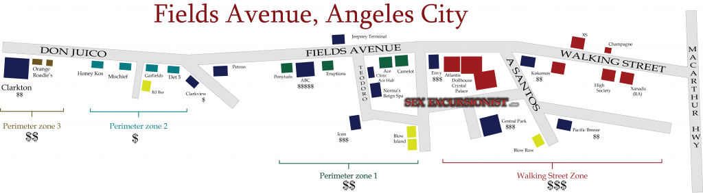 png map of Fields Avenue